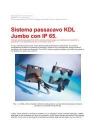 Sistema passacavo KDL Jumbo con IP 65. - Murrplastik Systemtechnik