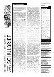 Schulbrief 2005/06, Nr. 3