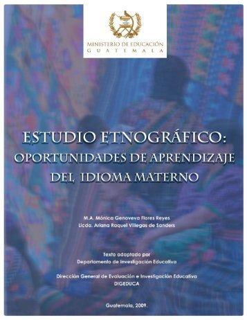 Estudio Etnográfico - Mineduc