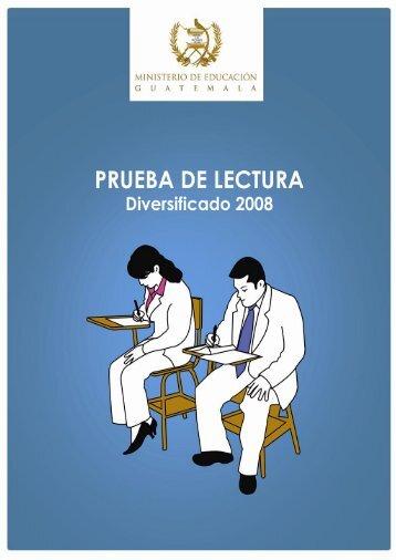 Prueba Liberada de Lectura Diversificado 2008 1
