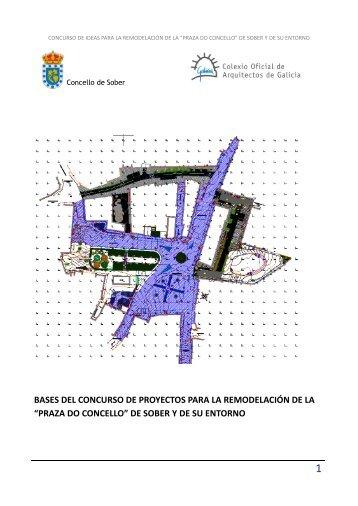 """""""praza do concello"""" de sober y de su entorno - Colexio Oficial de ..."""