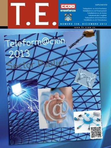NÚMERO 338 DICIEMBRE 2012 www.fe.ccoo.es