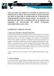 pliego administrativo - Colexio Oficial de Arquitectos de Galicia