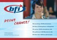 Deine CHANCE! - BFI