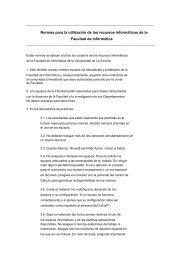 Normas para la utilización de los recursos informáticos de la ...
