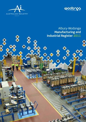 Competitive advantages of manufacturing in ... - City of Wodonga
