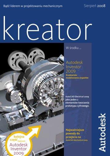 Kreator wałków w Autodesk Inventor 2009