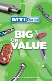 Download Spring 2012 Catalog - MTI Dental