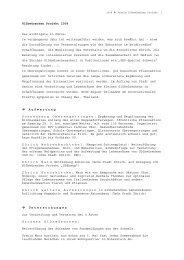 Tätigkeitsbericht 2008 - PDF - Glühwürmchen