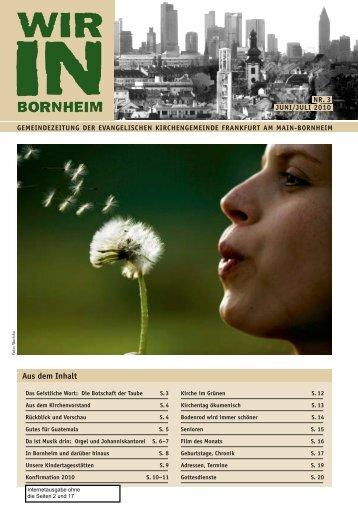 WIB-Juni/Juli 2010 - Wir in Bornheim