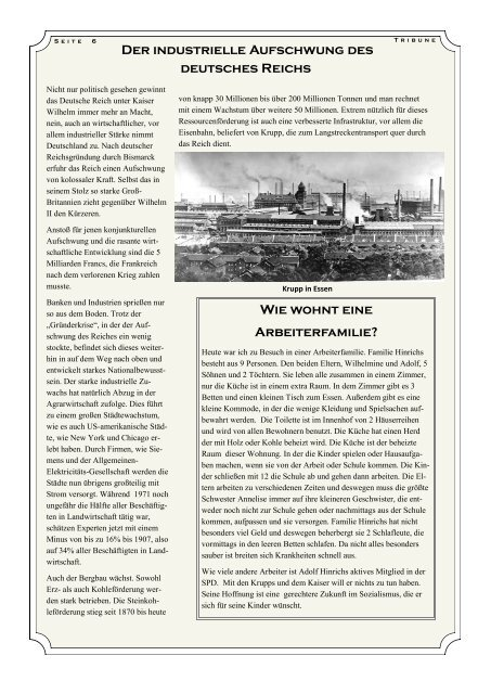 Dossier: Situation der deutschen Frau - Lise Meitner Gymnasium