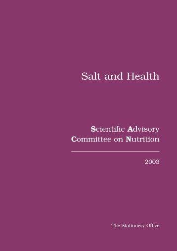 Salt and Health