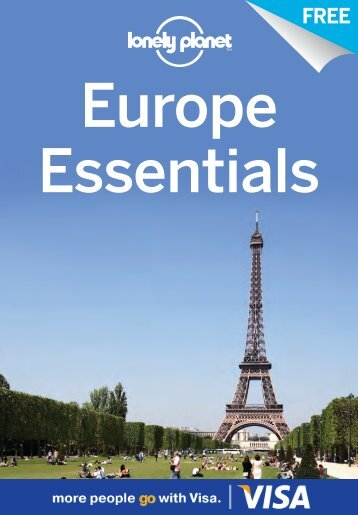 'Europe Essentials' PDF  - Lonely Planet