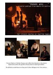 Vincent Macias et Pauline Dupouy ont collecté des histoires et des ...