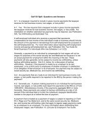 Gulf Oil Spill: Questions and Answers Q-1: Is a taxpayer required to ...