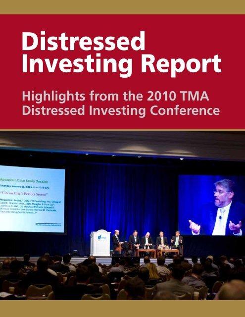 Distressed Investing Report - Turnaround Management Association