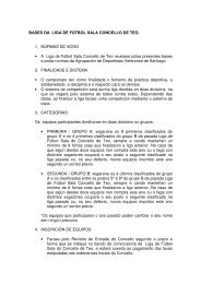 BASES DA LIGA DE FÚTBOL SALA CONCELLO DE TEO 1 ...