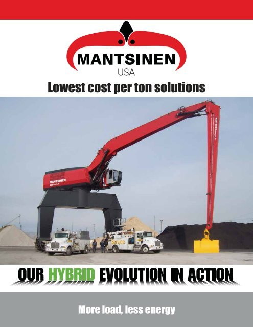 Lowest cost per ton solutions