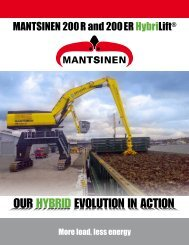 MANTSINEN 200R and 200ER HybriLift® - Mantsinen USA