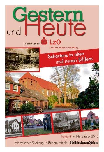Schortens in alten und neuen Bildern - Wilhelmshavener Zeitung