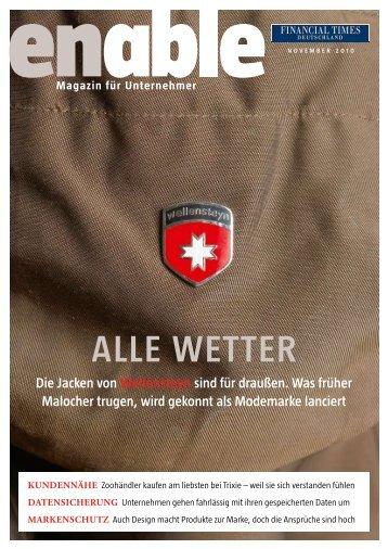 Magazin für Unternehmer - Financial Times Deutschland