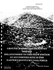 ground-water geochemistry and its relationship to the flow system at ...