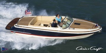 chris craft corsair 22 brochure rh yumpu com 25 Foot Chris Craft Catalina 25 Foot Chris Craft Catalina