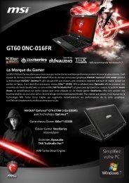 GT60 0NC-016FR