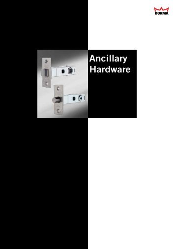Ancillary Hardware