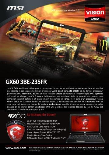 GX60 3BE-235FR