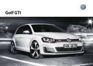Golf GTI - Volkswagen Interactive