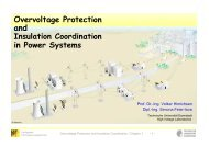 Overvoltage Protection and Insulation Coordination in Power Systems