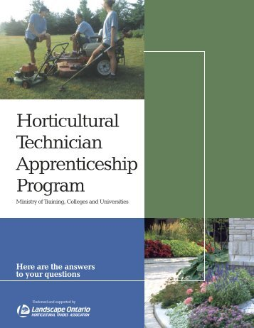 Horticultural Technician Apprenticeship Program