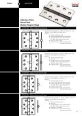 Stainless Steel Broad Butt Button Tipped Hinge 304SS 304SS 304SS 304SS - Page 3
