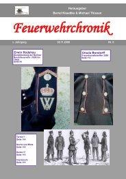 6-2009 Seite 95 Herausgeber Bernd Klaedtke ... - Feuerwehrchronik