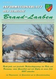 GEMEINDEZEITUNG - 34 - Dezember 2006 (1,9 MB) - Brand-Laaben