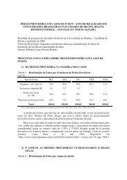 pesquisa sobre prisão em casos de furto - Marcos Rolim
