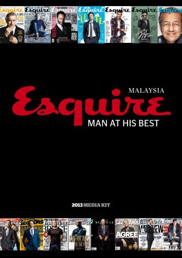 MAN AT HIS BEST - Esquire Malaysia