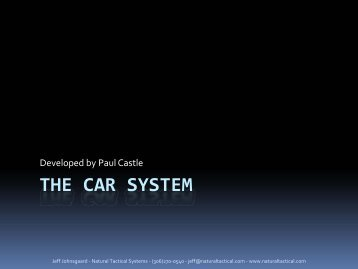 THE CAR SYSTEM