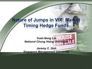 Nature of Jumps in VIX Market Timing Hedge Funds