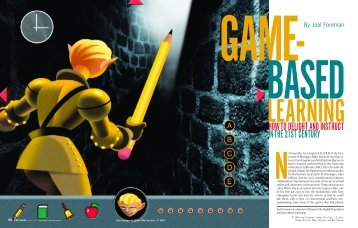 Game-Based Learning: How to Delight and Instruct in the ... - CARNet