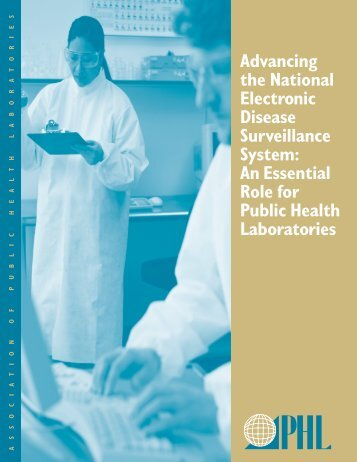 Advancing the National Electronic Disease Surveillance System: An ...