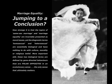 Jumping to a Conclusion?