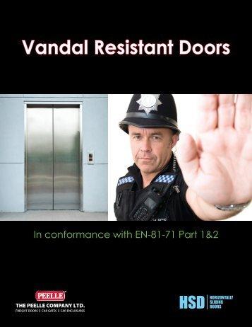 Vandal Resistant Doors