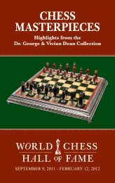 CHESS MASTERPIECES
