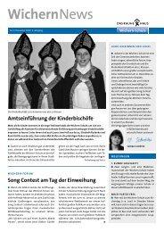 WichernNews - Wichern-Schule
