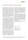 Impacts des changements climatiques en Belgique - Page 5