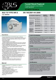 BLS 737 FFP2 NR D EN 149:2001+A1:2009