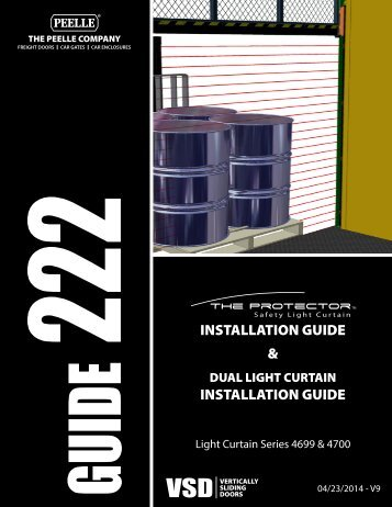 222 - PROTECTOR INSTALLATION GUIDE ... - Peelle Company