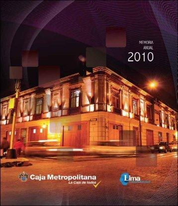 1 M E M O R I A 2010